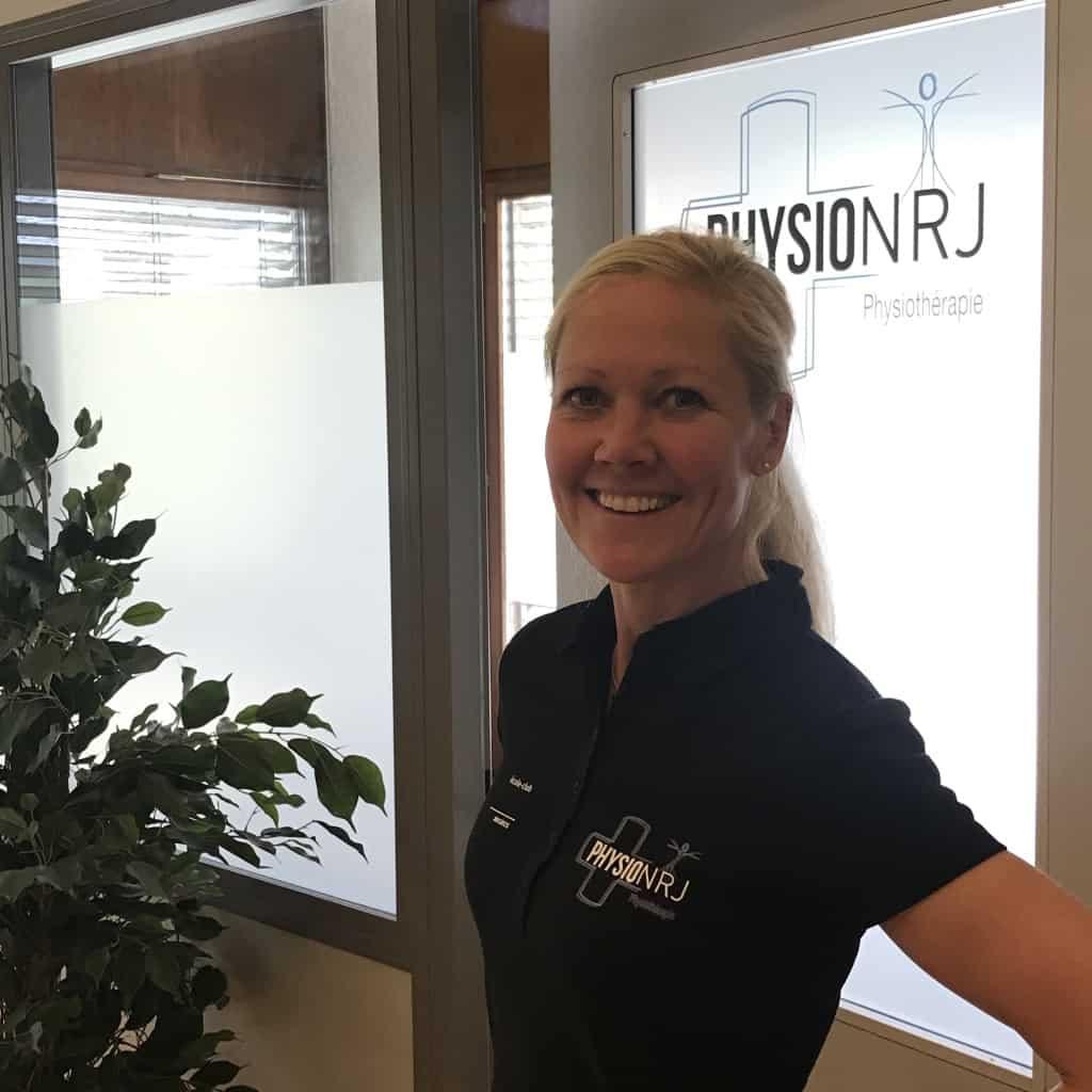 Karin | Physiothérapeute responsable à Cabinet PhysioNRJ Martigny et Finhaut. Physio Martigny